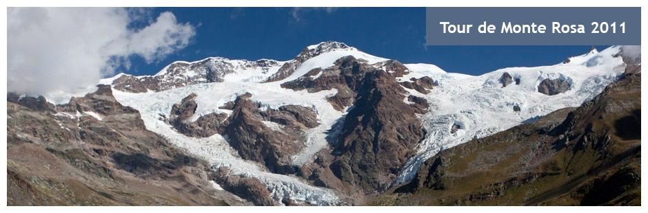 Tour de Monte Rosa 2011