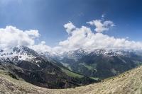 Cesta na Col du Mille