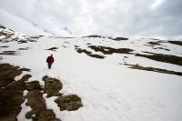Sestup na sněhu