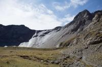 Pohled na Col de aup Martin