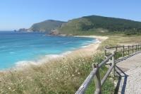 Divoká pláž ve Finistře