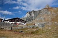 Cesta dolů z Col d'Olen