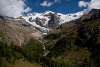 pohled na Monte Rosu