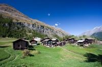 První domky Zermattu