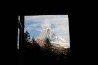 Výhled z okna hotelu