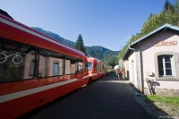 Nádraží v Les Houches