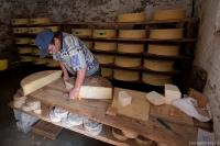 Pan sýrař v la Ville des Glaciers