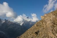 Výhled na Mt. Blanc