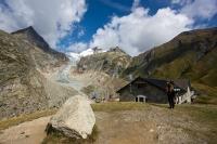 Chata Elena a ledovec