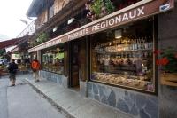 Obchůdky v Chamonix